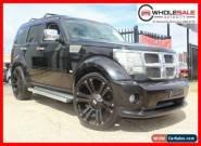 2008 Dodge Nitro KA SXT Wagon 5dr Spts Auto 5sp 4WD 2.8DT [MY08] Black A Wagon for Sale